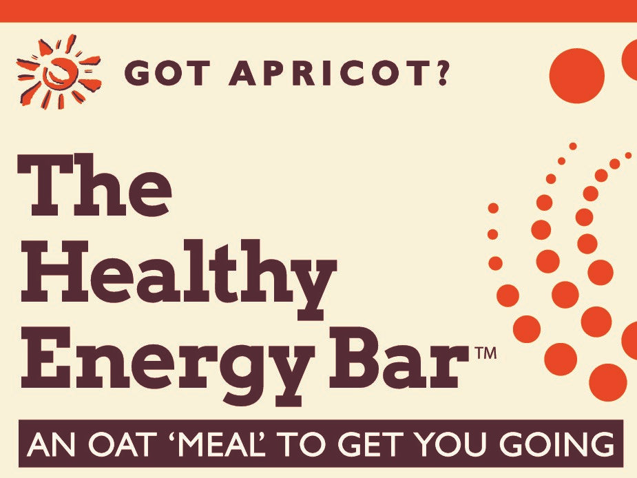 THE Bar - GOT APRICOT? - The Healthy Energy Bar (six-pack/12 ounces)