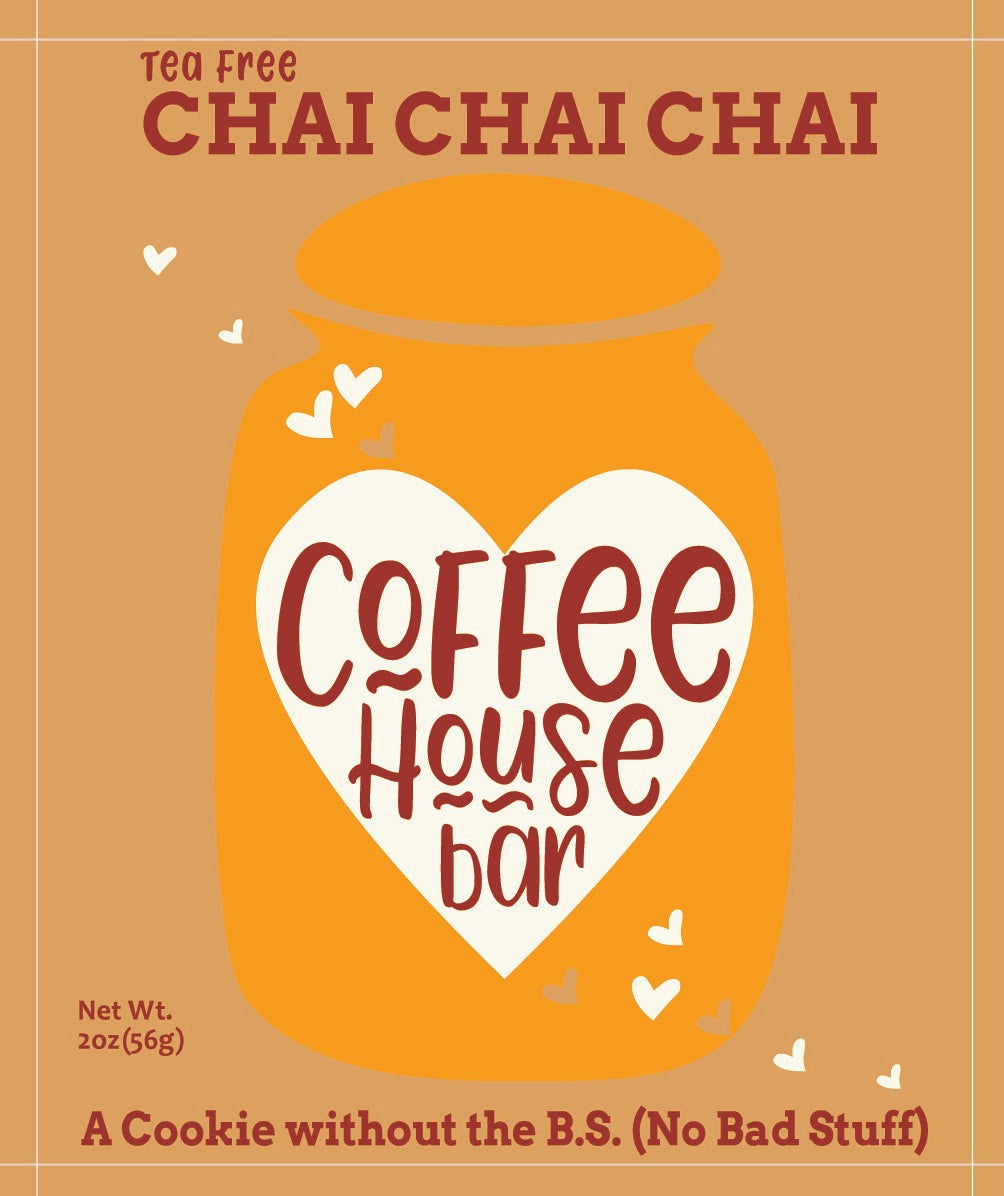 Coffee House Bar - (2 ounce) Chai Chai Chai (Six Pack)
