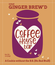 Load image into Gallery viewer, Coffee House Bar - (2 ounce) Ginger Brew'd (Six Pack)