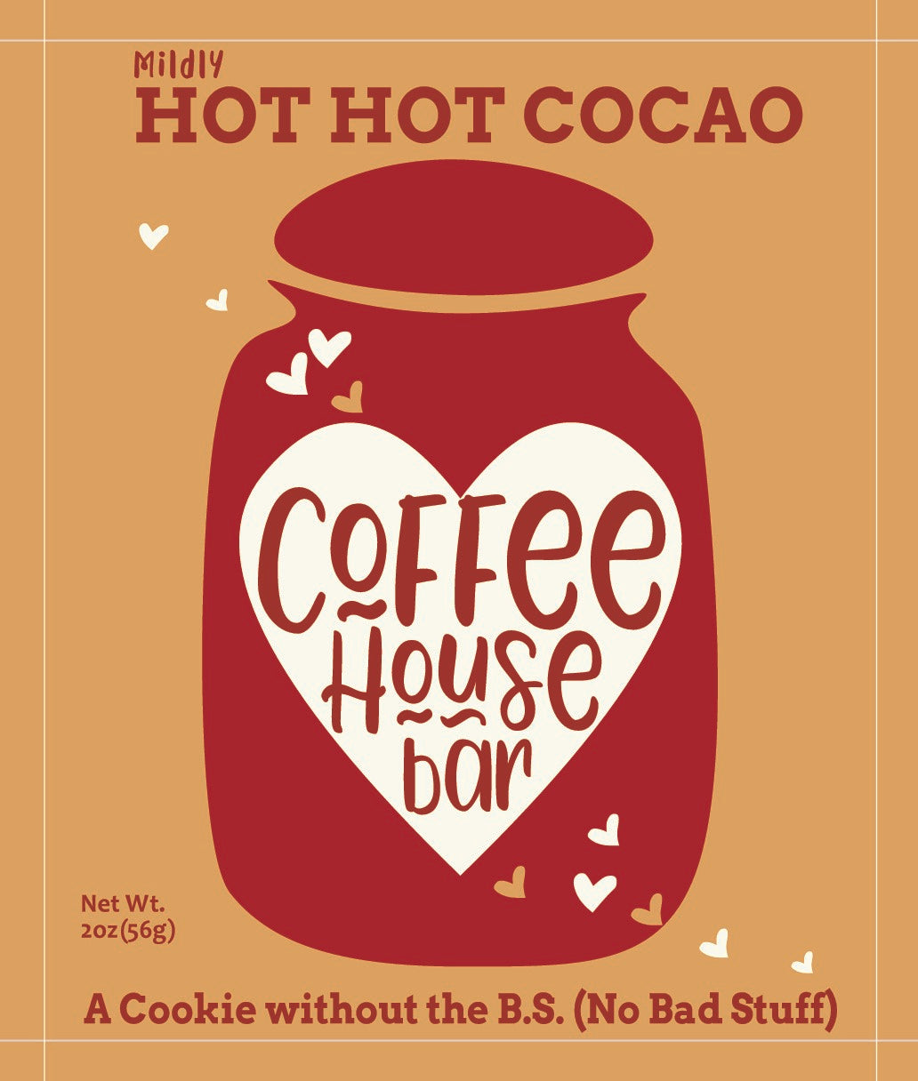 Coffee House Bar - (2 ounce) Hot Hot Cocao (Six Pack)