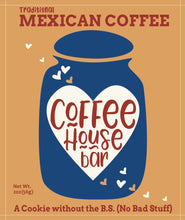 Load image into Gallery viewer, Coffee House Bar - (2 ounce) Mexican Coffee (Six Pack)