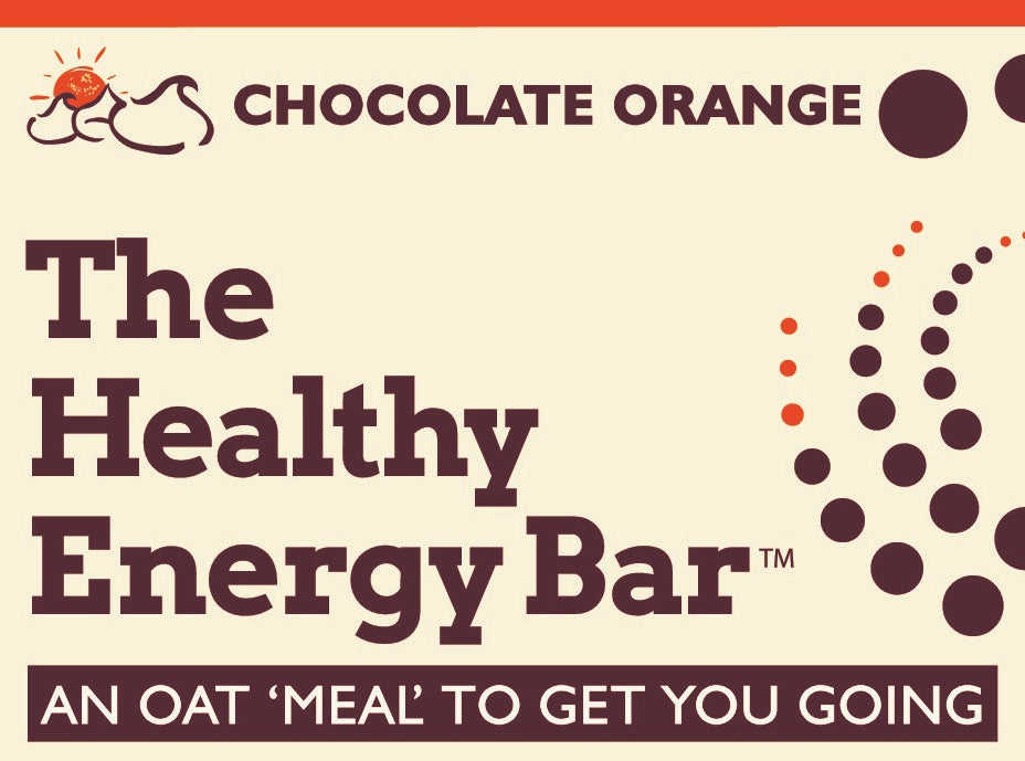 The Healthy Energy Bar - (2 ounce) Chocolate Orange - Six Pack