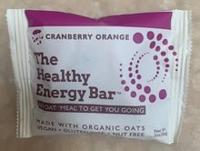 Load image into Gallery viewer, THE Bar - CRANBERRY ORANGE - The Healthy Energy Bar (six-pack/12 ounces)