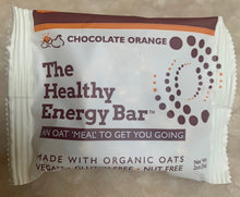 Load image into Gallery viewer, THE Bar - CHOCOLATE ORANGE - The Healthy Energy Bar (six-pack/12 ounces)