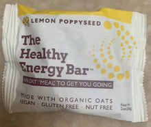 Load image into Gallery viewer, THE Bar - LEMON POPPY SEED - The Healthy Energy Bar (six-pack/12 ounces)