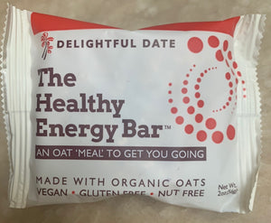 THE Bar - DELIGHTFUL DATE - The Healthy Energy Bar (six-pack/12 ounces)