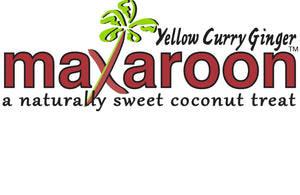 MaXaroon™ - (2 ounce) Yellow Curry Ginger  - Six Pack
