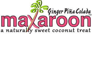 MaXaroon™ - (2 ounce) Ginger Pina Colada - Six Pack