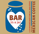 Bar in a Jar - MEXICAN COFFEE (Six Pack)