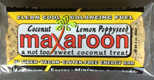 Load image into Gallery viewer, MaXaroon™ - (2 ounce) Lemon Poppy Seed - Six Pack