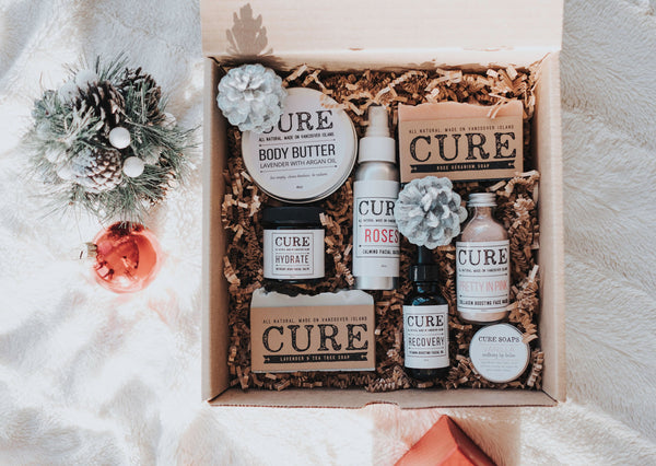 ALL YOU NEED : Our Cure Necessities Box is already discounted by 30% just for you!