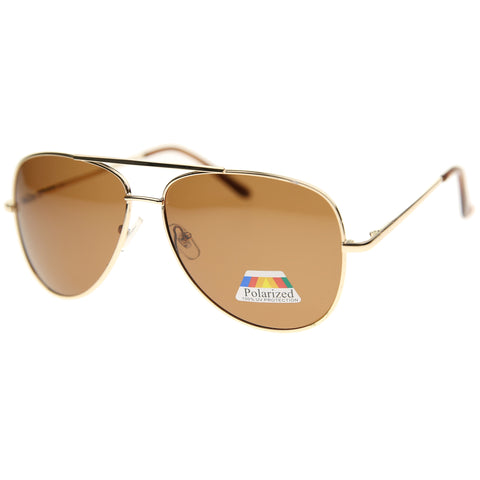 8104P - Polarized Aviator Sunglasses