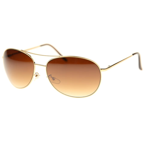 25 - Round Metal Aviator Sunglasses