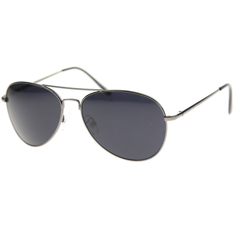 30011G - Aviator Metal Sunglasses