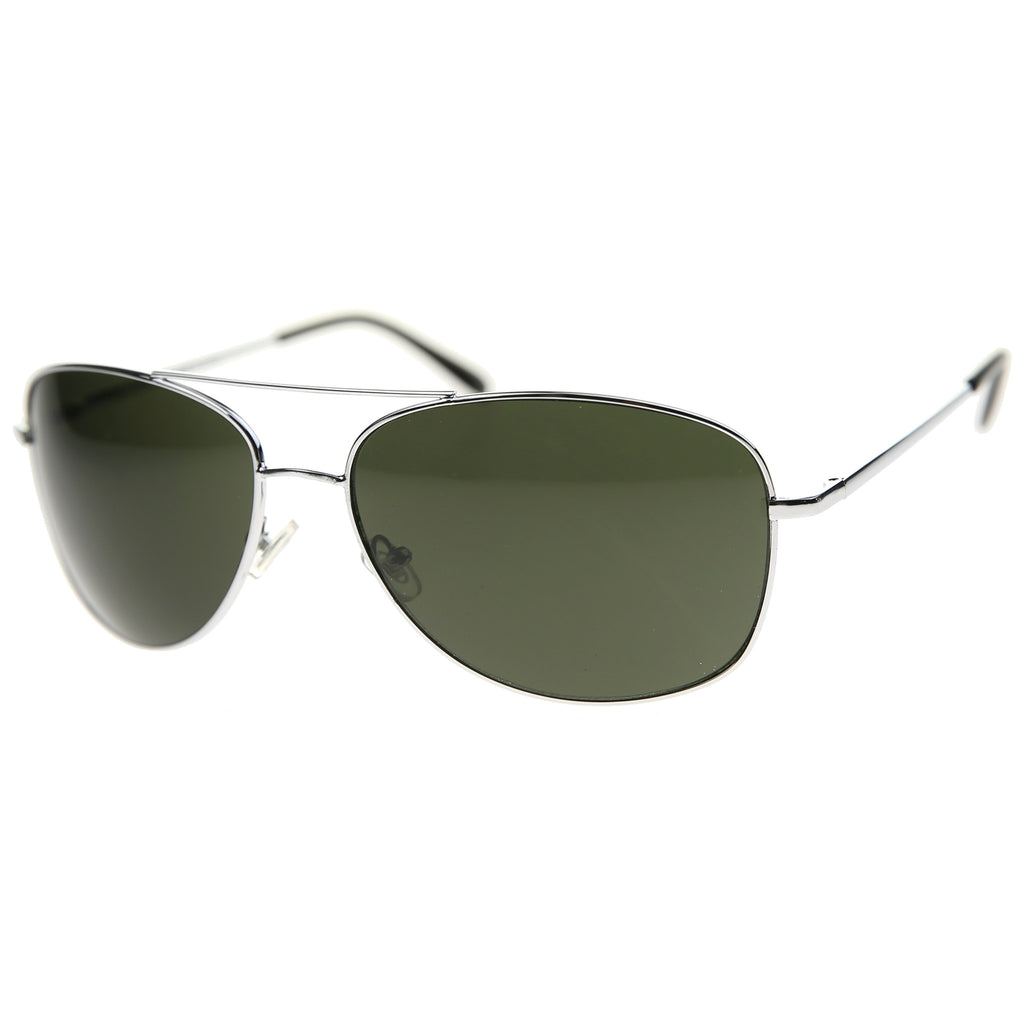 819 - Aviator Metal Sunglasses