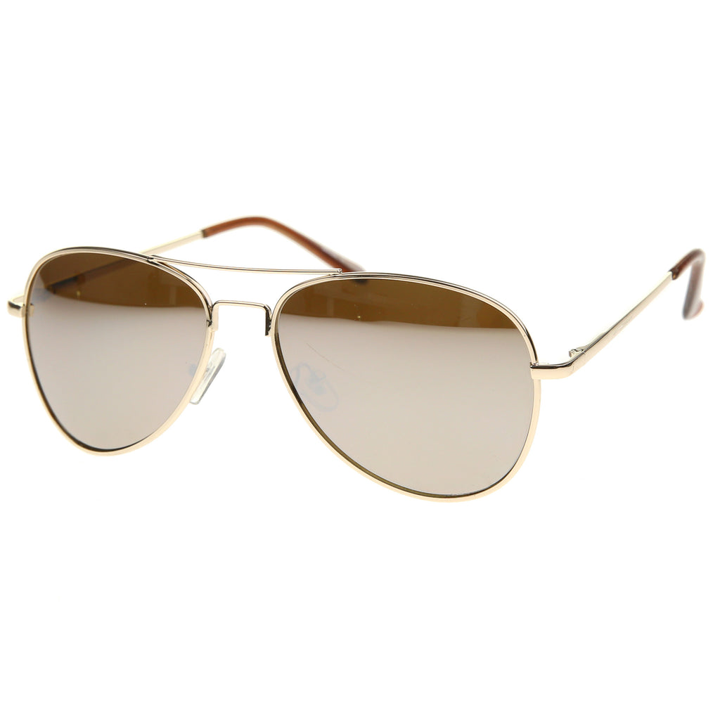30011 - Aviator Metal Sunglasses