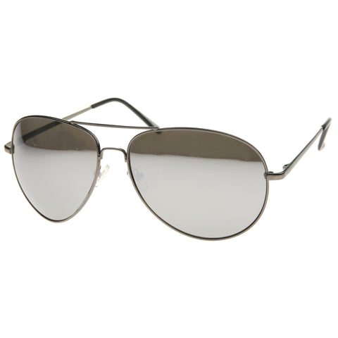 30013 - Aviator Metal Sunglasses