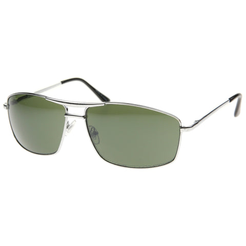 8008 - Aviator Metal Sunglasses