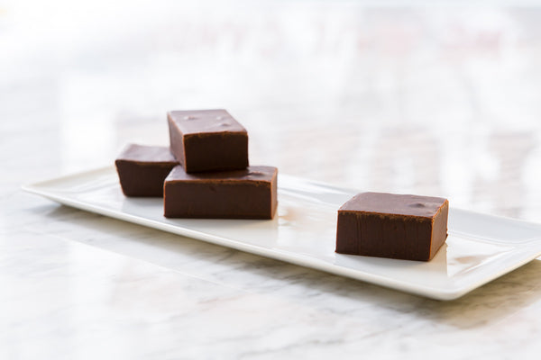 Sea Salt Caramel Chocolate Fudge