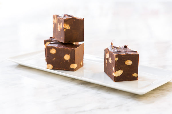 Coconut Almond Chocolate Fudge
