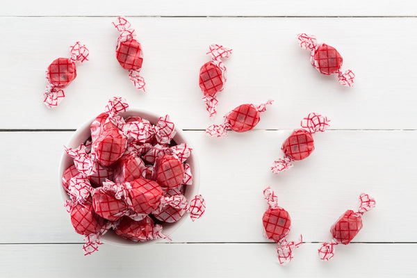 Raspberry Taffy