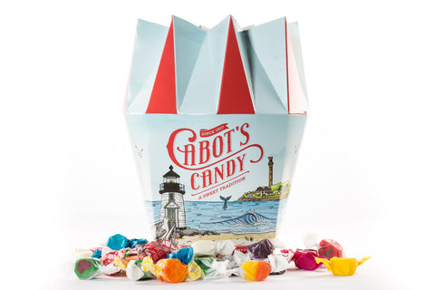2 lb Bucket of Assorted Saltwater Taffy