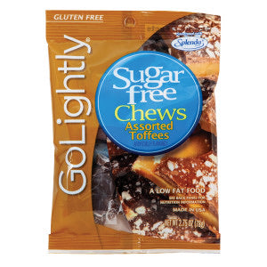 Go Lightly Sugar Free Toffee Chews Candy