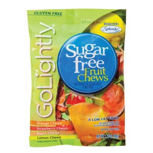 Go lightly Sugar Free Fruit Chews Bag