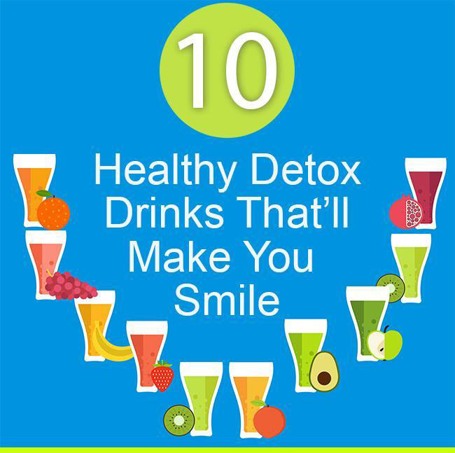 Top 10 Healthy Detox Water Drinks That WIll Make You Smile