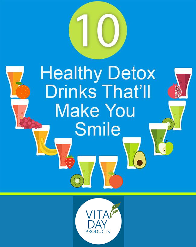 10 Health Detox Drinks That'll Make You Smile