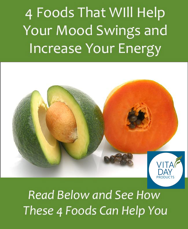 4 Foods That Will Help Your Mood Swings and Increase Your Energy