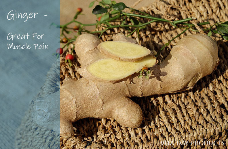 Ginger for Muscle Pain