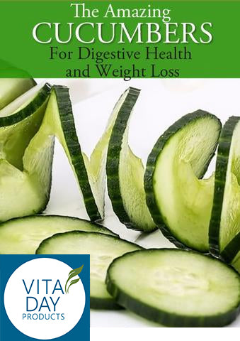 Cucumbers for Digestive Health and Weight Loss