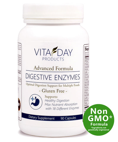 Advanced Digestive Enzymes With 18 Enzymes