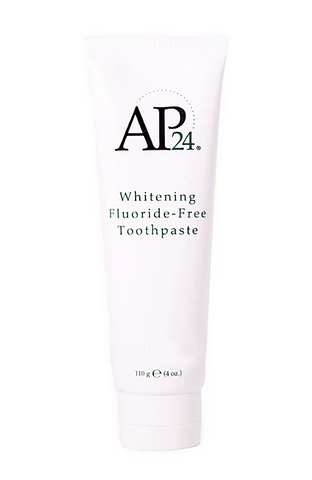 teeth whitening toothpaste  without fluoride
