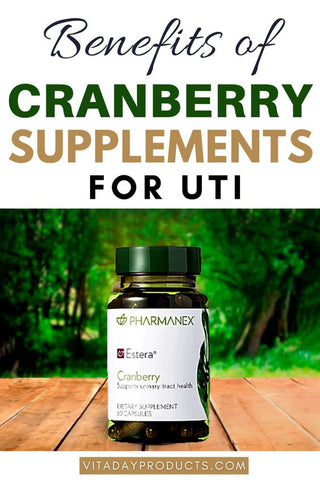 Cranberry supplement for UTI
