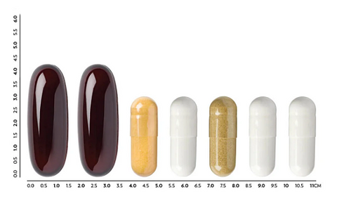 LifePak Nano size of the pills