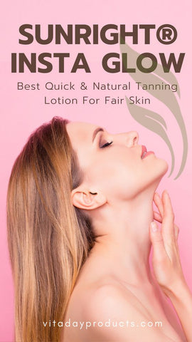 quick natural tan for fair skinned men and women