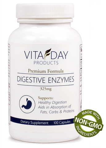 Digestive Enzymes Supplement By Vita Day Products