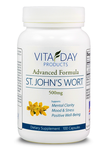St John Wort for anxiety