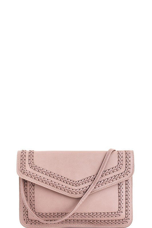 GIRLS NIGHT CLUTCH - TAUPE