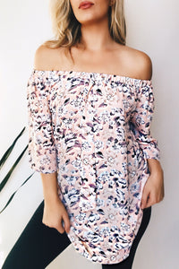 SWEETHEART IN FLORALS - PINK