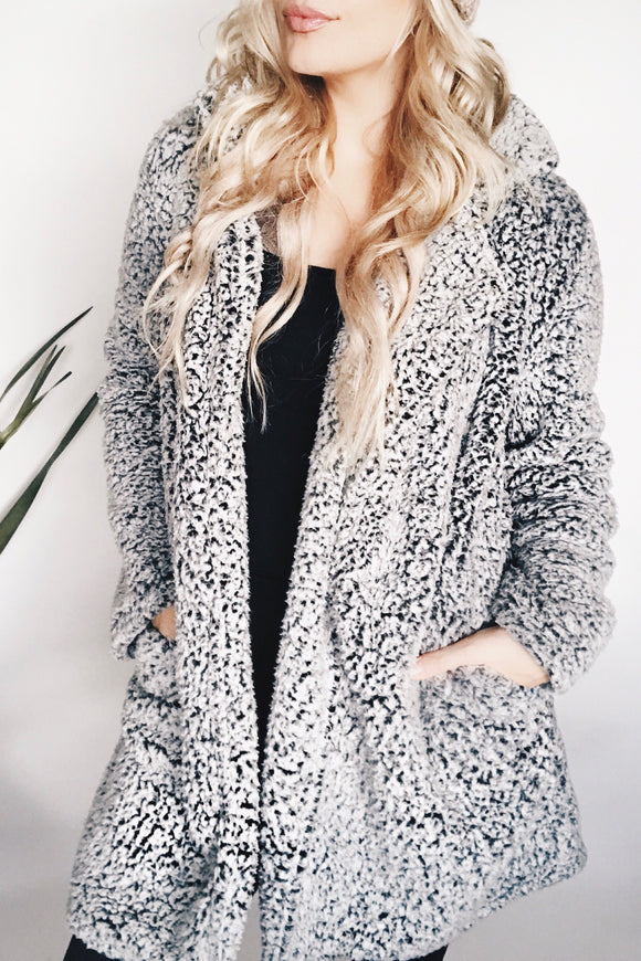 LOVE STITCH LUXE COAT