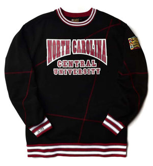 "North Carolina Central University Original '92 ""Frankenstein"" Crewneck Black/Maroon"