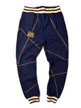 "AACA Original '92 ""Frankenstein"" Stitched Sweatpants Navy/Gold"