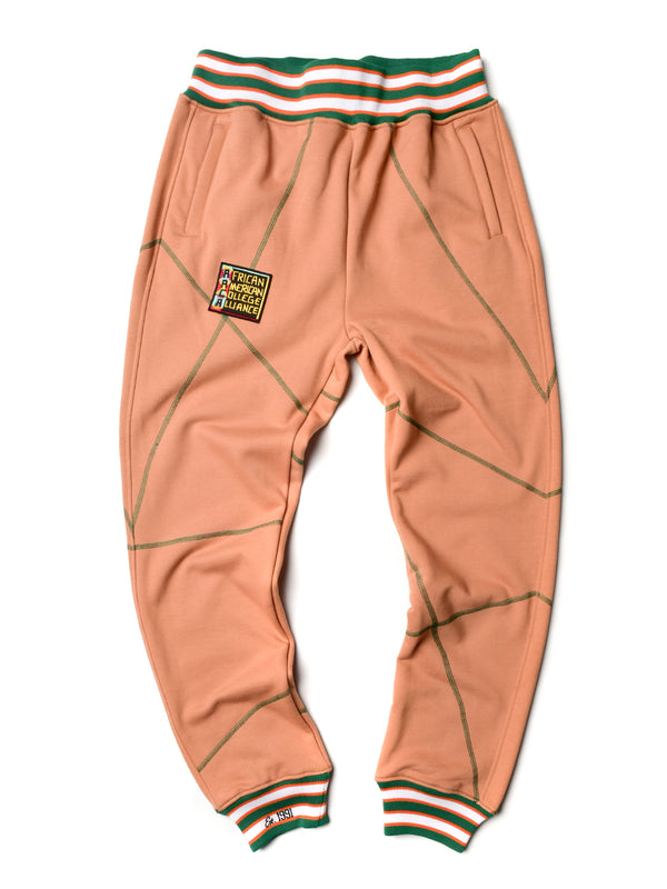 "AACA Original '92 ""Frankenstein"" Stitched Sweatpants Butter Rum/Green"