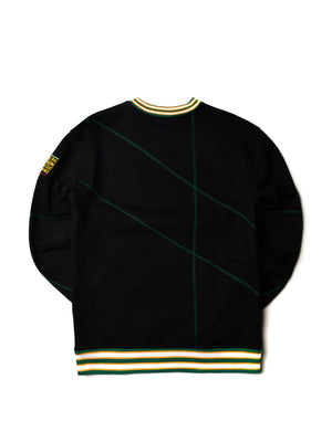 "Norfolk State University Original '92 ""Frankenstein"" Crewneck Black/Green"