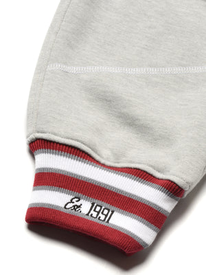 "AACA Original '92 ""Frankenstein"" Stitched Sweatpants MDH Grey/White"