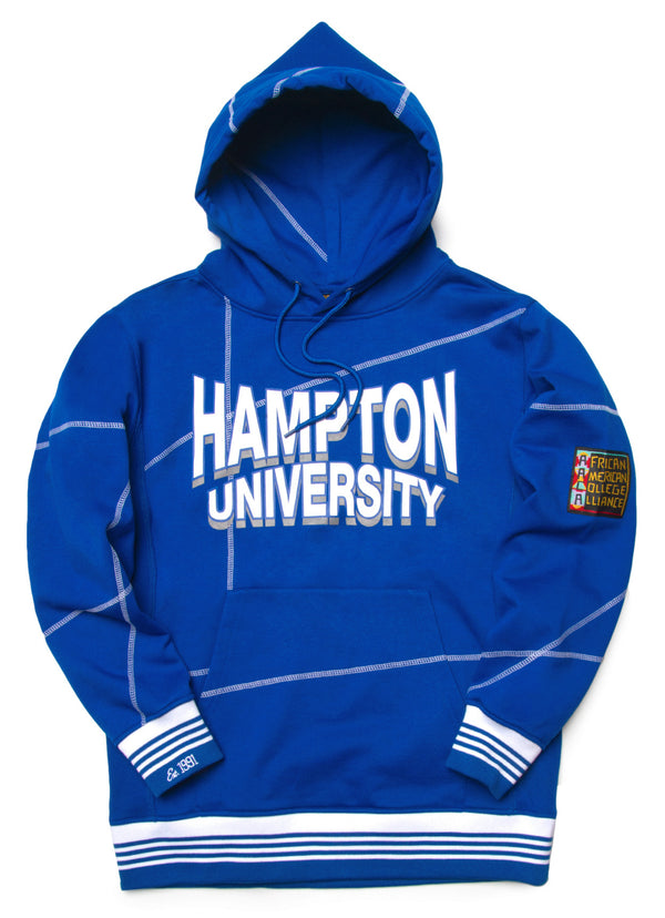 "Hampton U. Fresh '93  ""Frankenstein"" Hoodie Royal/White"