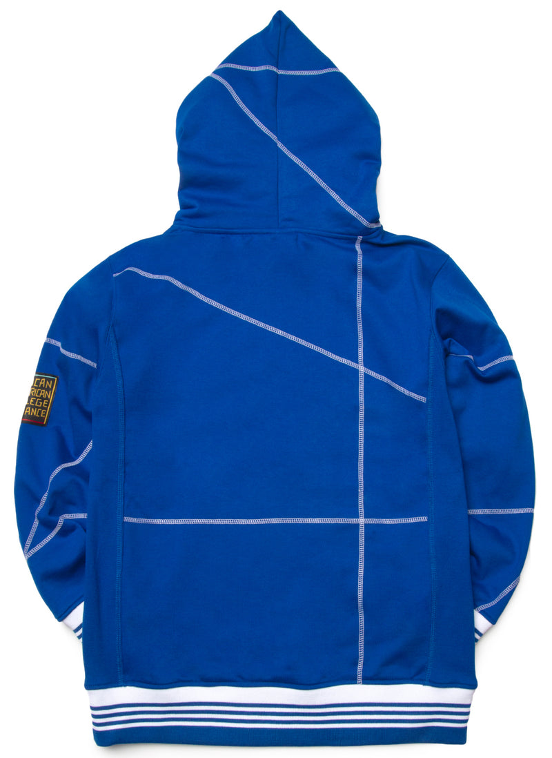 "Cheyney U. Fresh '93  ""Frankenstein"" Hoodie Royal/White"